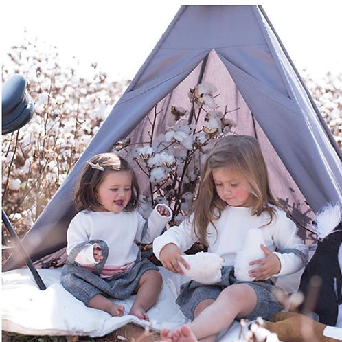 TEEPEE TENT DARK GREY