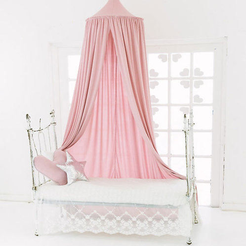 HANGING CANOPY TENT PASTEL PINK