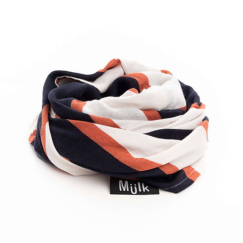 MIILK OXFORD STRIPE MUSLIN
