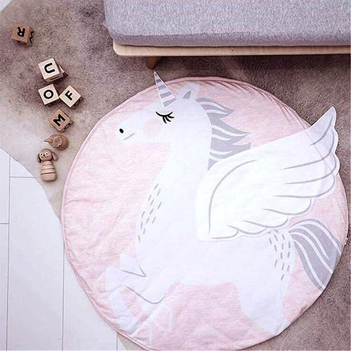 UNICORN ROUND PLAYMAT