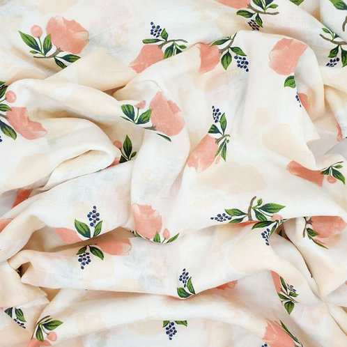 PEACH ROSE SWADDLE