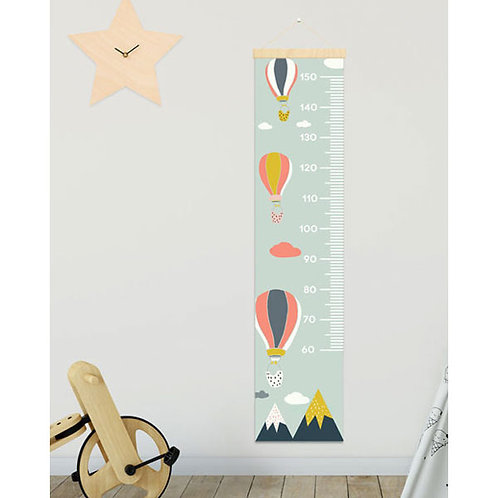 BALLOON HEIGHT CHART