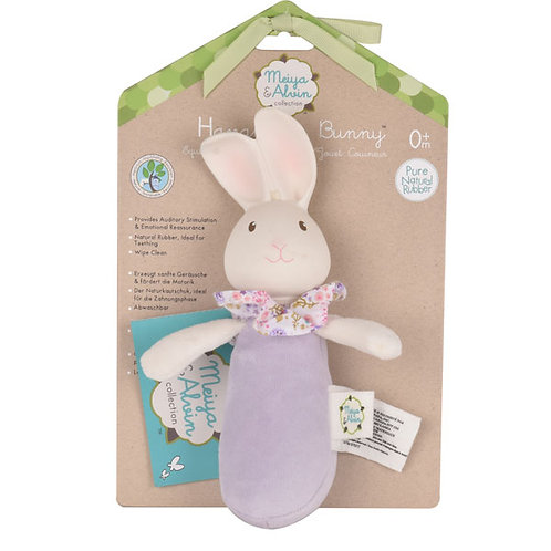 HAVAH THE BUNNY SOFT SQUEAKER