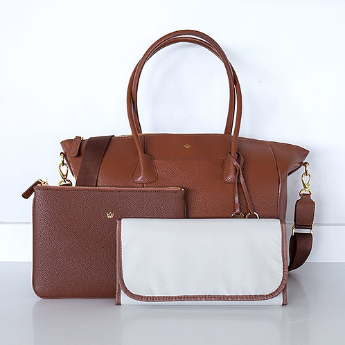 K'LEA LUX CHANGING BAG TAN