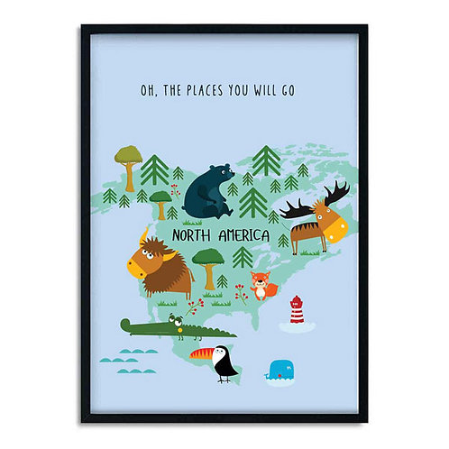 'OH, THE PLACES YOU WILL GO' PRINT