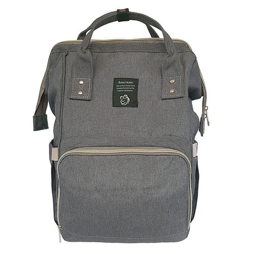 BACKPACK NAPPY BAG CHARCOAL