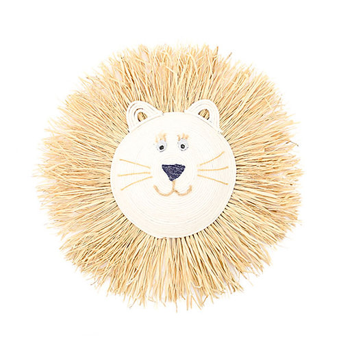LION FACE WALL HANGING