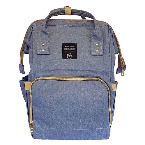 BACKPACK NAPPY BAG BLUE