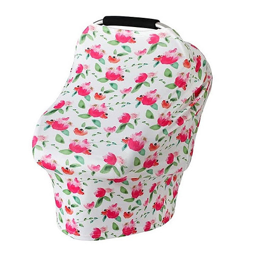 PINK FLOWER MULTI PURPOSE COVER
