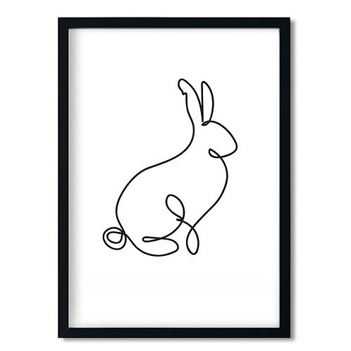 LINE DRAWING-BUNNY