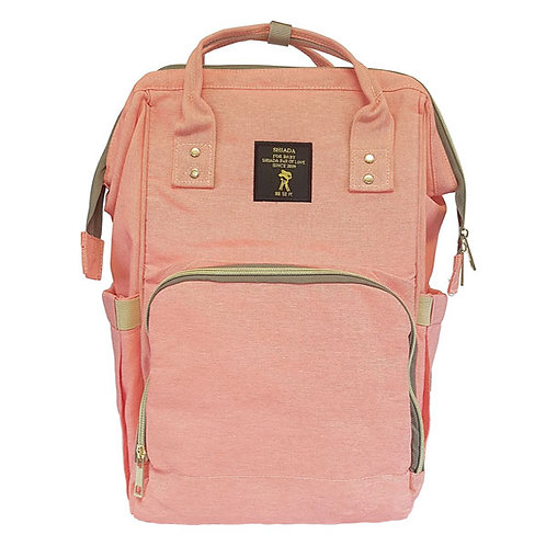 BACKPACK NAPPY BAG CORAL