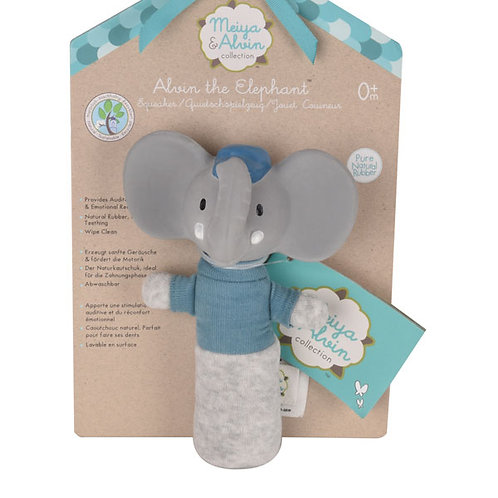 ALVIN THE ELEPHANT SOFT SQUEAKER