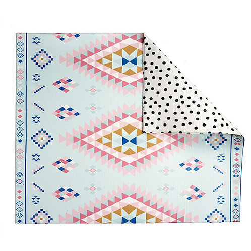 MOROCCAN POLKA DOT REVERSIBLE PLAYMAT