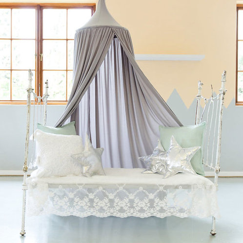 HANGING CANOPY TENT DOVE GREY