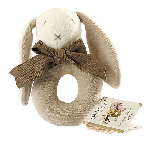 MAUD N LIL EARS THE BUNNY RATTLE