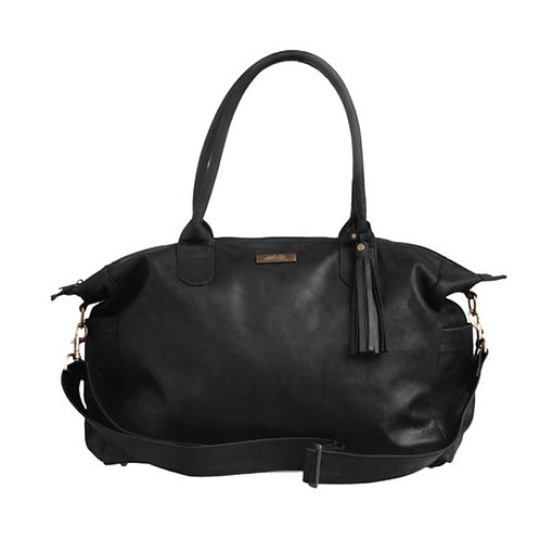 MALLY CLASSIC BABY BAG IN BLACK
