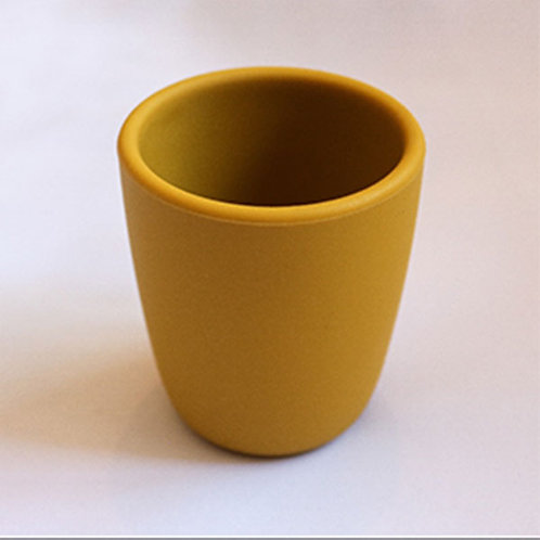 BABY DRINKING CUP- MUSTARD