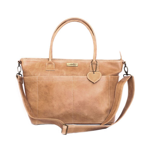 MALLY BEULA BABY BAG IN TAN
