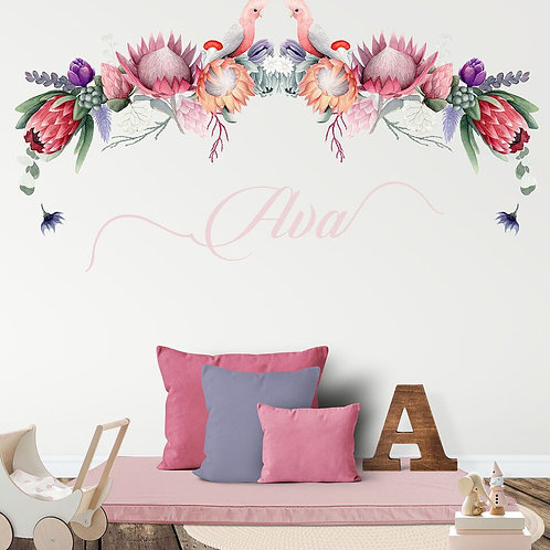 'PROTEA PROVINCE' WALL DECAL