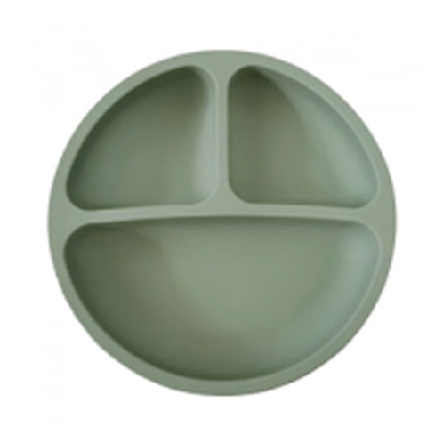 SILICONE SUCTION PLATE- SAGE