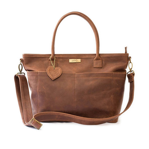 MALLY BEULA BABY BAG IN BROWN