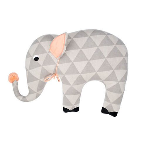 ELLIE THE ELEPHANT PILLOW