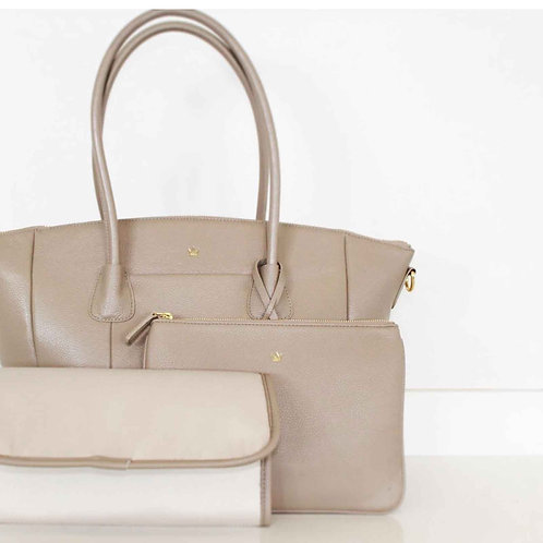 K'LEA LUX CHANGING BAG TAUPE