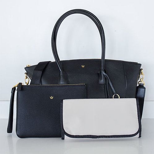 K'LEA LUX CHANGING BAG BLACK