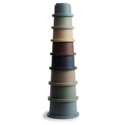 STACKING CUPS- FOREST