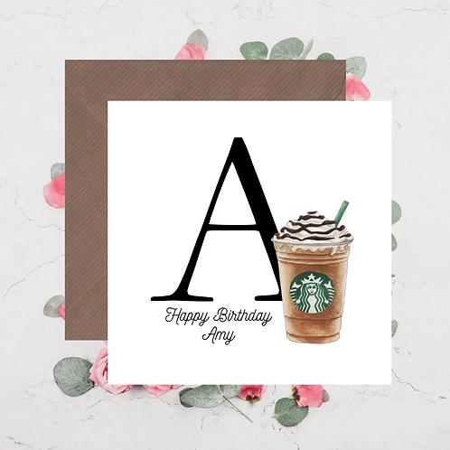 Starbucks Happy Birthday