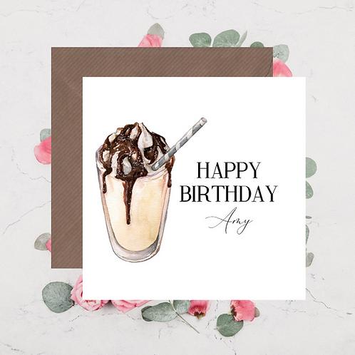 Happy Birthday Milkshake 2