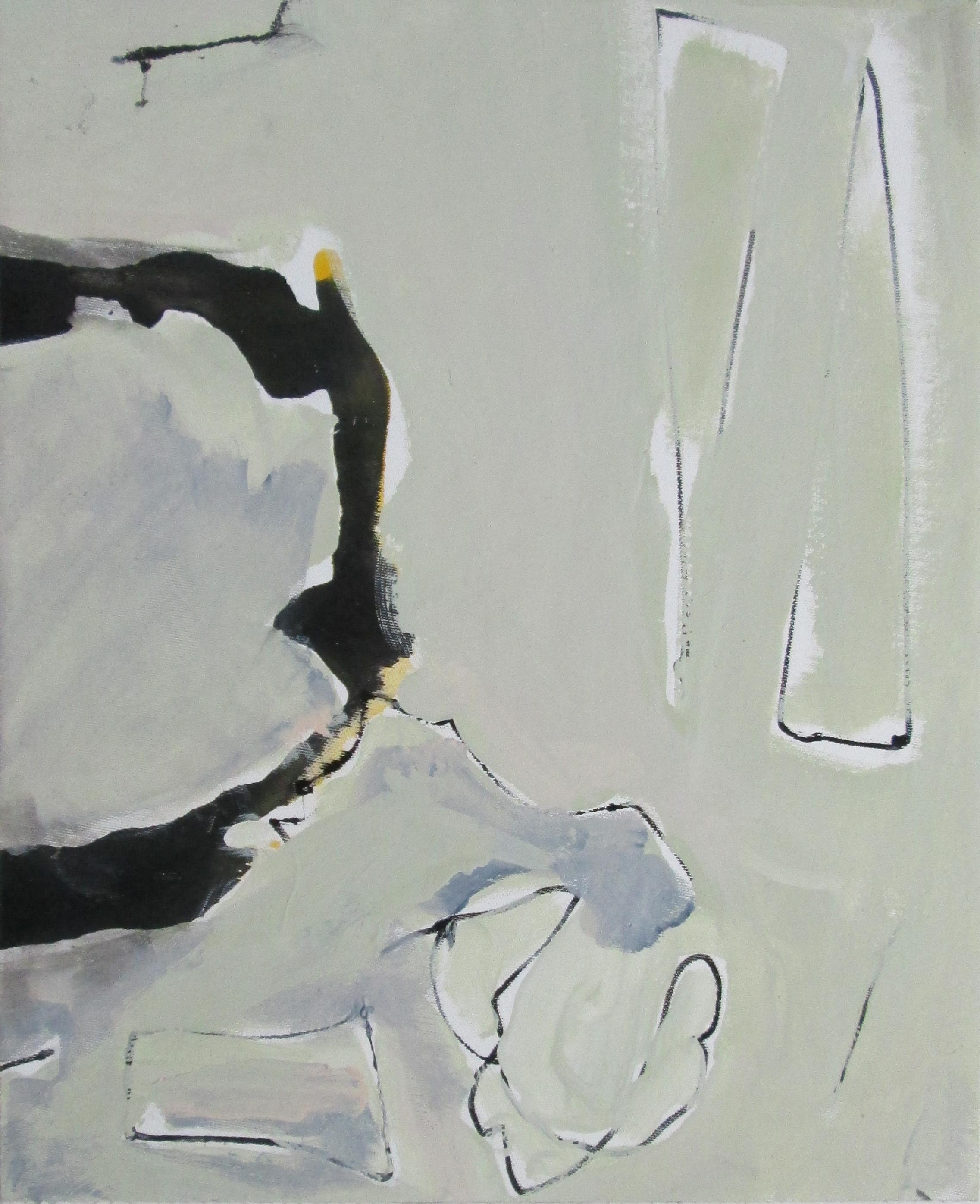 Canvas gemaroufleerd op hout - 43/35