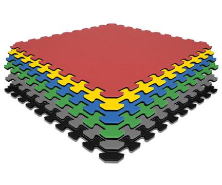 Interlocking Carpet & Vinyl