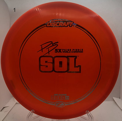 Sol Z Line Paige Pierce Signature
