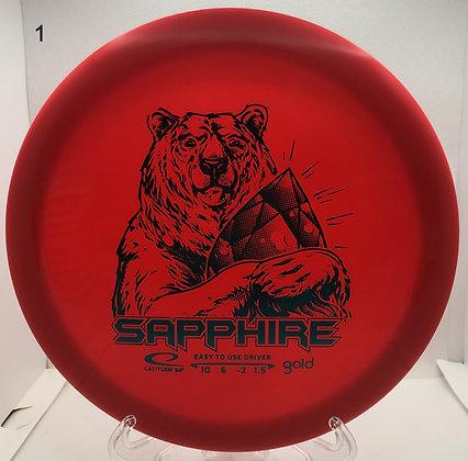 Sapphire Gold Line