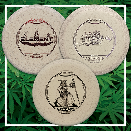 Lightweight 3 Disc Hemp Starter Set