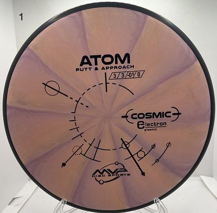 Atom Cosmic Electron