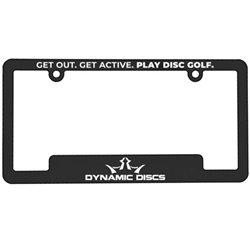 Dynamic Discs License Plate Frame