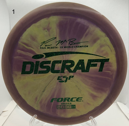 Force ESP Paul McBeth Signature