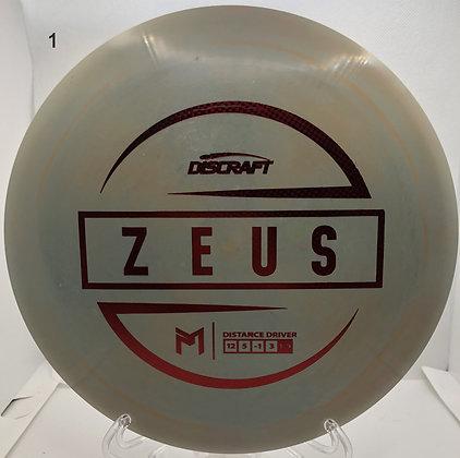 Zeus Paul Mcbeth Signature