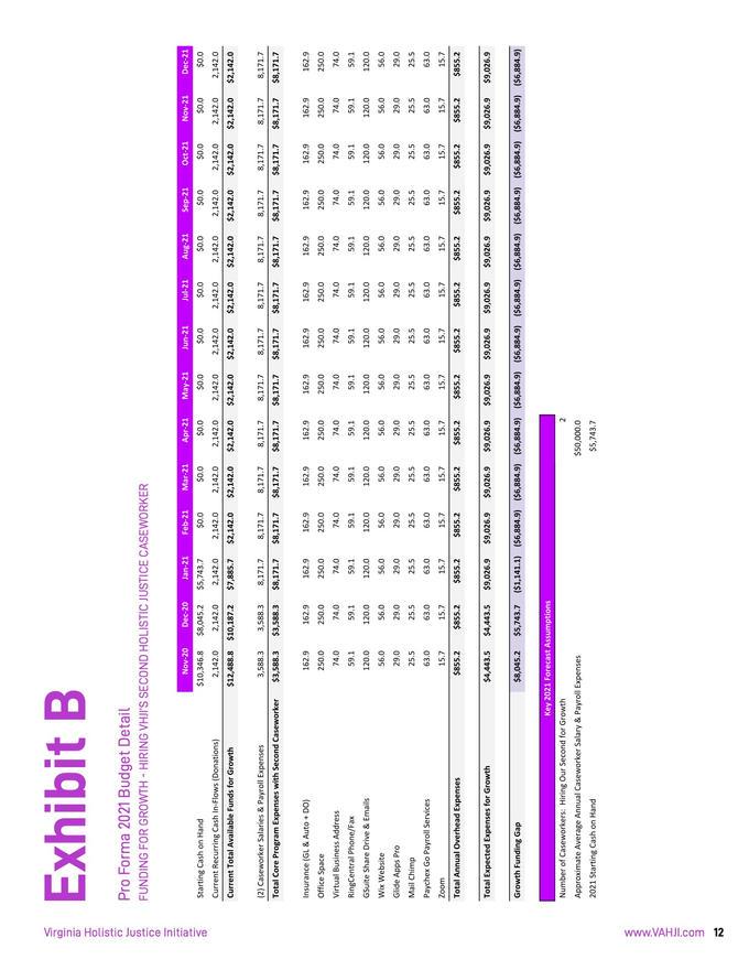 VHJI Donor Prospectus Pg. 15 of 16