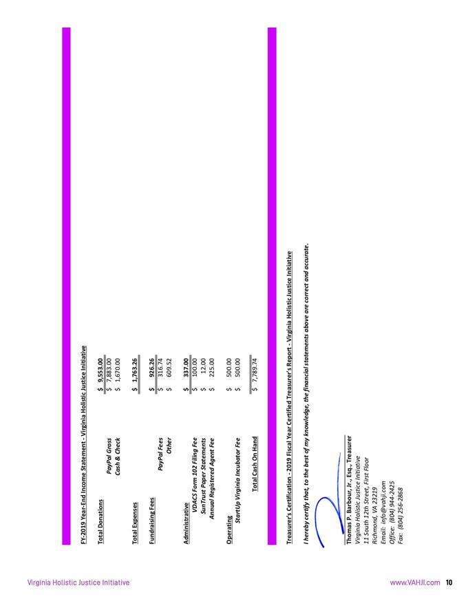 VHJI Donor Prospectus Pg. 13 of 16