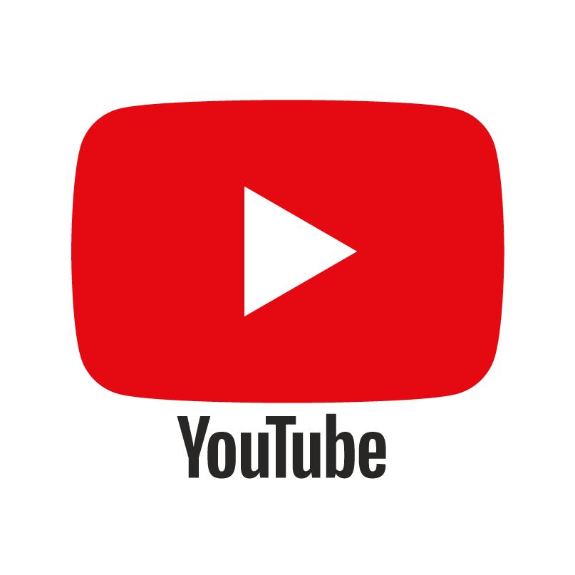 홈페이지 로고 - 유튜브