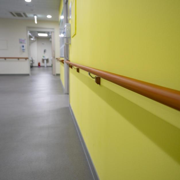 친환경 페인트 병실 및 복도