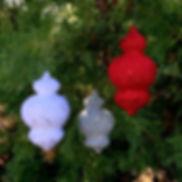 Finial Ball Christmas Ornament