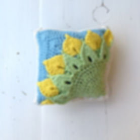 Quarter Sunflower Square Back
