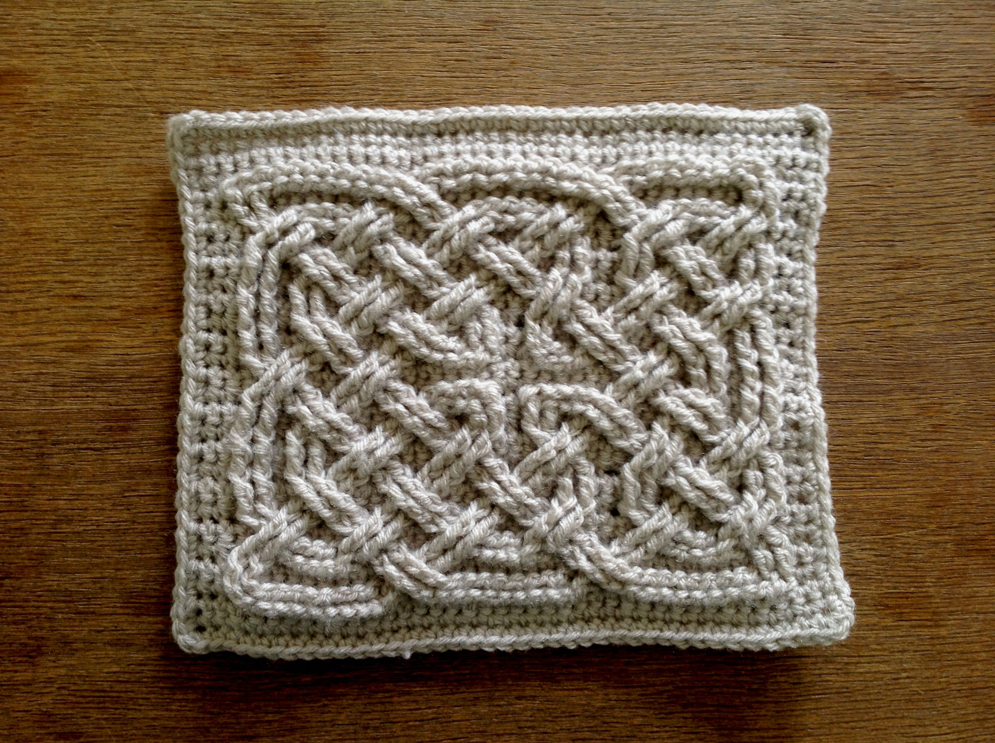 Book Of Kells Square Knot Diagrams Slip Diagram Additionally Stitch Crochet In The End Each Row And Around With Sc Hdc Corner Stitches Last Then To Join