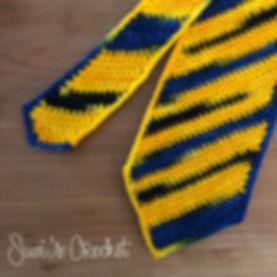 Diagonal Stripe Necktie