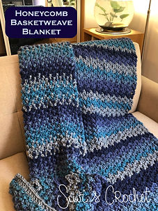 Honeycomb Basketweave Blanket