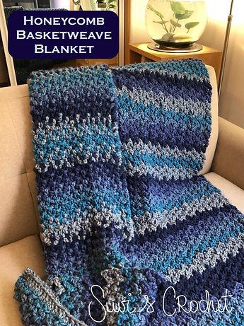 Honeycomb Basketweave Blanket
